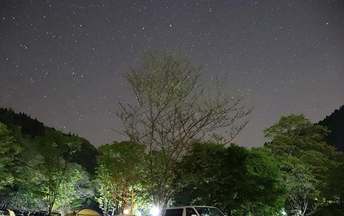 満点の星空